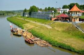 Spływ tratwą do Gdańska