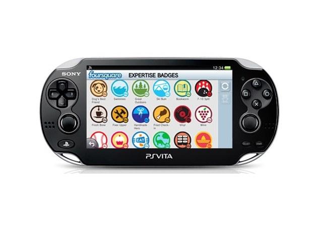 Społeczności w PS Vita to również aplikacja foursquare /materiały promocyjne