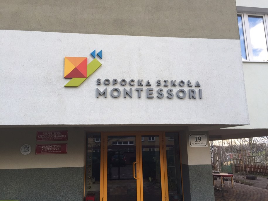 Spopocka Szkoła Montessori /Kuba Kaługa (RMF FM) /RMF FM