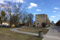 Spór o skwer w Łodzi