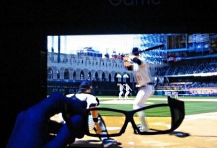 Sport, gry i telewizja - wszystko będzie nadawane także w 3D /AFP
