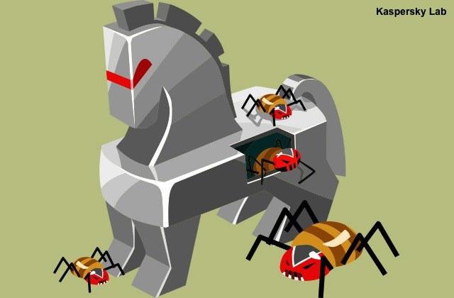 Spośród wszystkich szkodliwych programów trojany bankowe stanowią największe zagrożenie dla finansów użytkowników /materiały prasowe