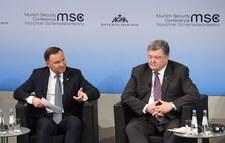 Spotkania prezydenta Andrzeja Dudy w Monachium