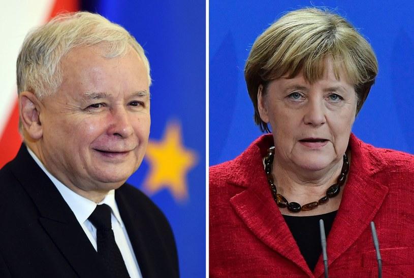 Spotkanie Angeli Merkel i Jarosława Kaczyńskiego zaplanowano na godz. 18 /AFP