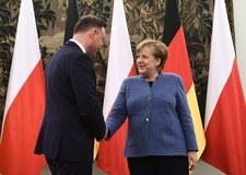 Spotkanie Duda-Merkel