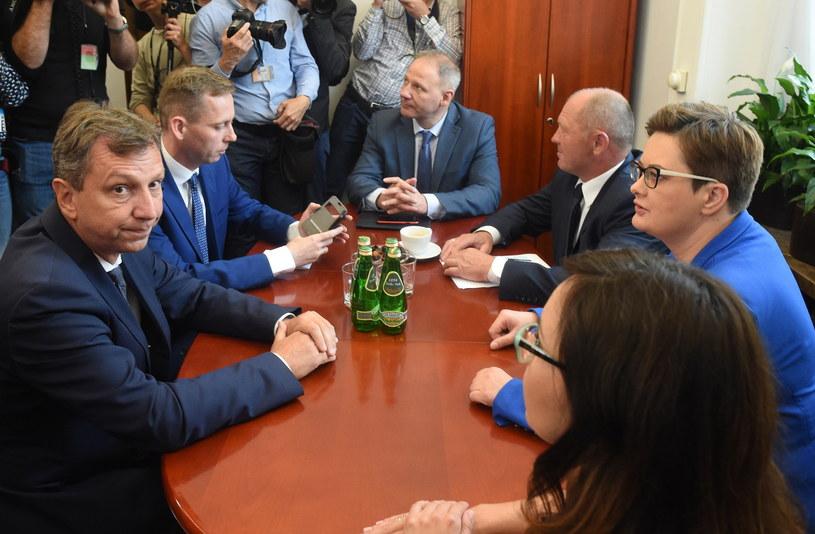 Spotkanie opozycji /PAP