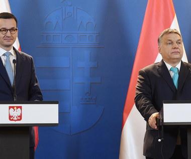"""Spotkanie Orbana i Morawieckiego. """"Rok 2018 to ostatni pełny rok cyklu europejskiego"""""""