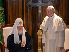 Spotkanie papieża Franciszka i patriarchy Cyryla