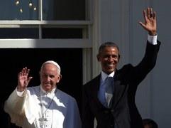 Spotkanie papieża z Barackiem Obamą