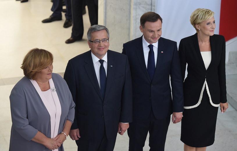 Spotkanie par prezydenckich /Radek Pietruszka /PAP