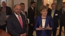 Spotkanie pierwszej minister Szkocji z przewodniczącym Parlamentu Europejskiego