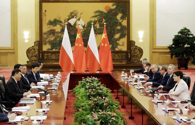 Spotkanie premier Szydło z władzami Chin /PAP/EPA