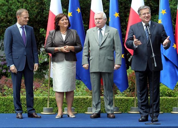 Spotkanie w ogrodach prezydenckich / fot. R. Pietruszka /PAP