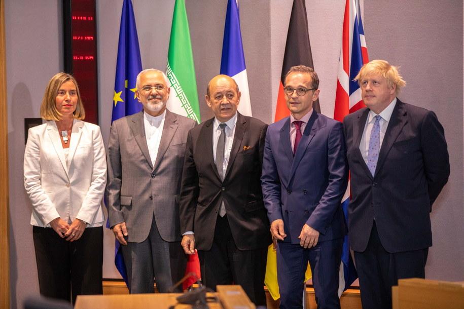 Spotkanie ws. porozumienia nuklearnego z przedstawicielami UE i Iranu / PAP/EPA/Olivier Matthys /PAP/EPA
