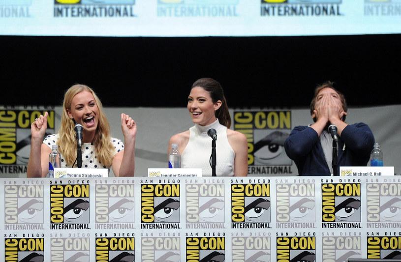 "Spotkanie z obsadą ""Dextera"" na Comic-Con /Getty Images"