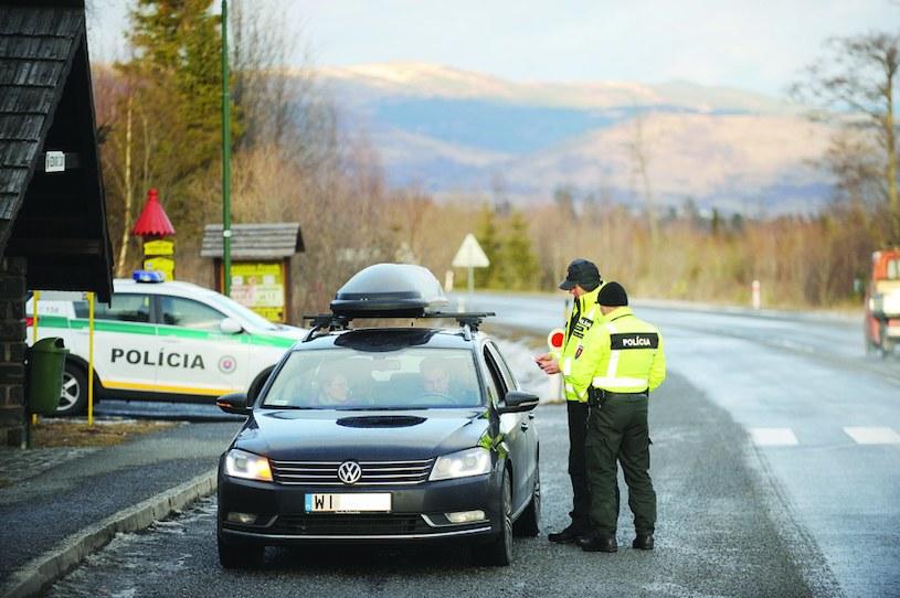 Spotkanie ze słowacką drogówką może być bardzo bolesne. Fot. Tygodnik Podhalański /