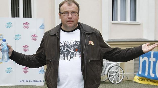 Spotykam się z dużą sympatią, bo... sam jestem sympatyczny - przekonuje aktor / fot. Engelbrecht /AKPA