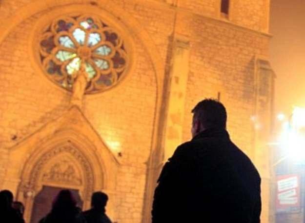 Sprawa tak zwanego finansowania Kościoła wraca w polityce jak bumerang /AFP
