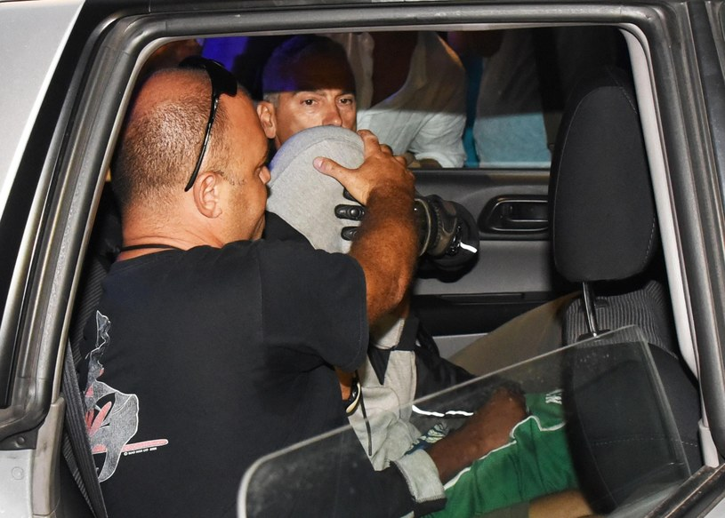 Sprawca gwałtu w Rimini /Associated Press /East News