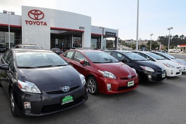 Sprzedaż Toyoty znacznie spadła /INTERIA.PL/RMF