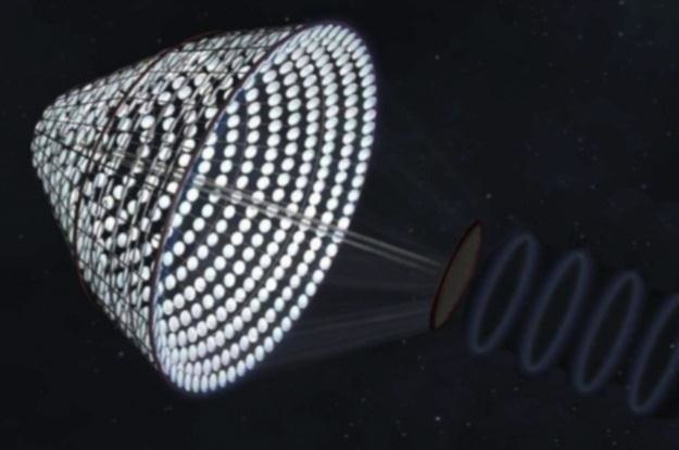 SPS-ALPHA dostarczy energię bezpośrednio z kosmosu? (Fot. NASA) /materiały prasowe