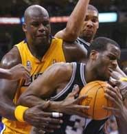 Spurs w drugim meczu pokonali Lakers