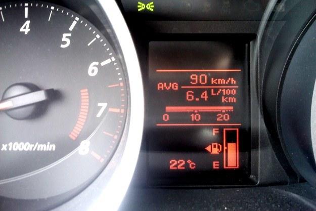 Średnie spalanie wyniosło niespełna 6,5 l/100 km /INTERIA.PL