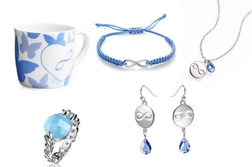 """Środki na dofinansowanie """"Niebieskiej Linii"""" pozyskiwane są ze sprzedaży produktów z Symbolem Nieskończoności /materiały prasowe"""