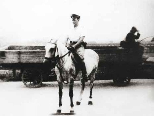 SS-Hauptsturmführer Amon Göth, komendant niemieckiego obozu koncentracyjnego w Płaszowie /IPN