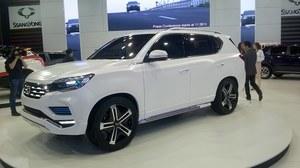 SsangYong LIV-2 - luksusowy SUV