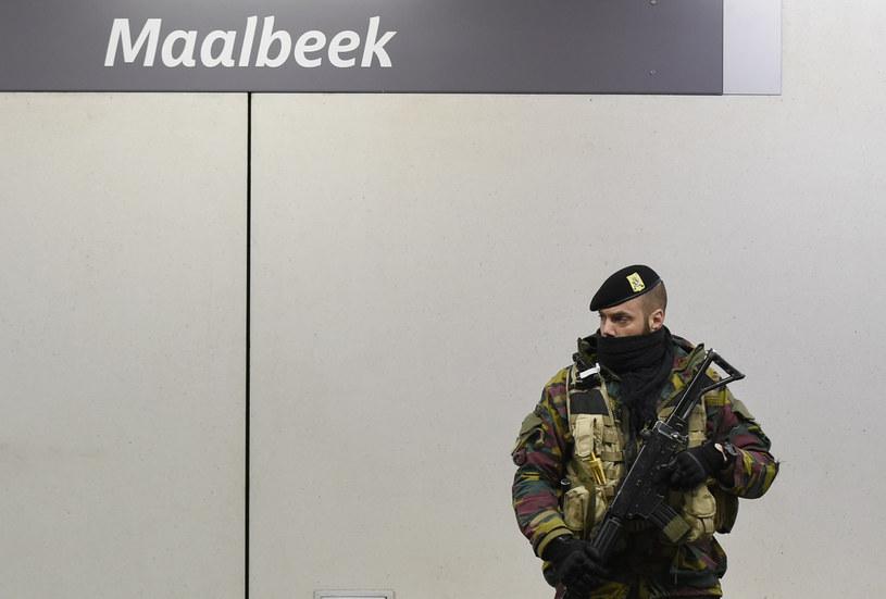 Stacja Maelbeek. To tu doszło do zamachu /AFP
