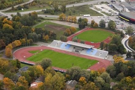 Stadion Kadriorg w pełnej krasie. /Archiwum