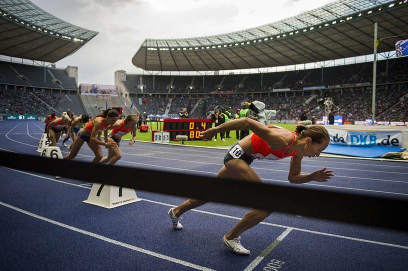 Stadion lekkoatletyczny w Berlinie /AFP