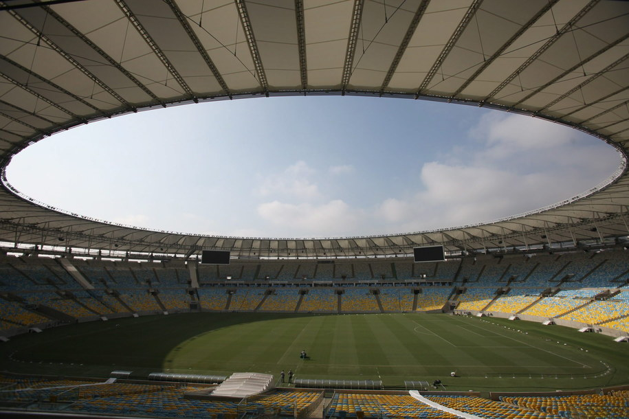 Stadion Maracana w Rio de Janeiro /Antonio Lacerda /PAP/EPA