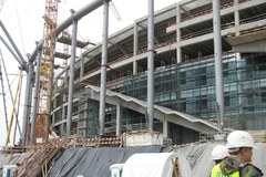 Stadion Narodowy - podpatrujemy postęp prac