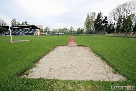 Stadion przy ul. Bursaki zamieni się w nowoczesny stadion lekkoatletyczny. /krosno24.pl