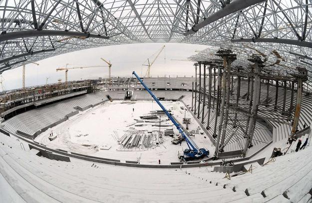 Stadion we Lwowie będzie gotowy dopiero w październiku 2011 /AFP