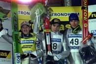 Stając na drugim stopniu podium w Trondheim Adam Małysz obronił Puchar Świata