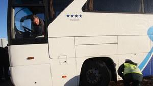 Stały punkt kontroli autobusów