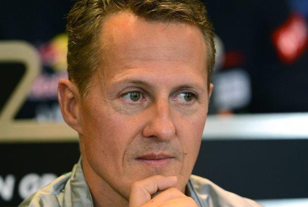 Stan Schumachera się poprawia? /AFP