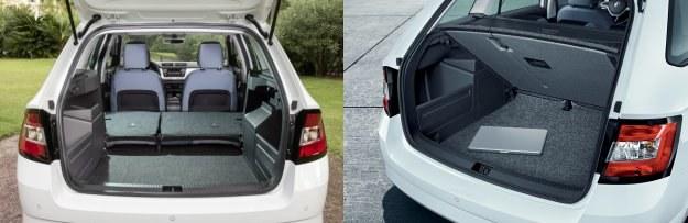 Standardowo bagażnik mieści 530 l, o 25 l więcej niż dotychczas. Po rozłożeniu kanapy jego pojemność zmalała jednak z 1465 do 1395 l. Odległość między nadkolami pozostała praktycznie bez zmian i wynosi 96 cm. /Skoda