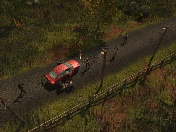 Standardowy przegląd pojazdu przez zombie kończy się zazwyczaj fatalnie dla kierowcy i pasażerów /Informacja prasowa