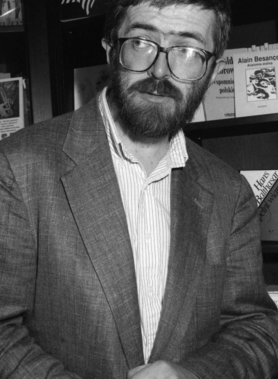 Stanisław Barańczak /Andrzej Rybczyński  /PAP