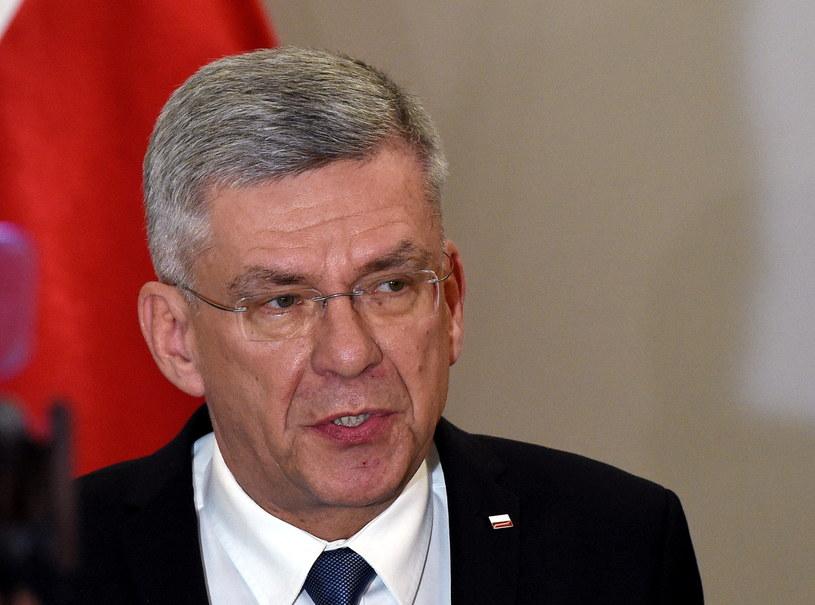 Stanisław Karczewski, Marszałek Senatu /Radek Pietruszka /PAP