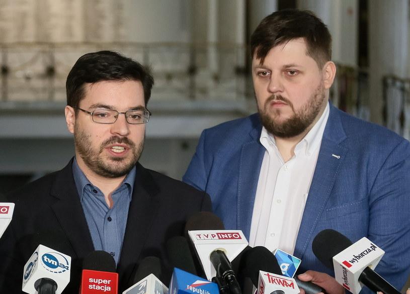 Stanisław Tyszka i Piotr Apel /Paweł Supernak /PAP