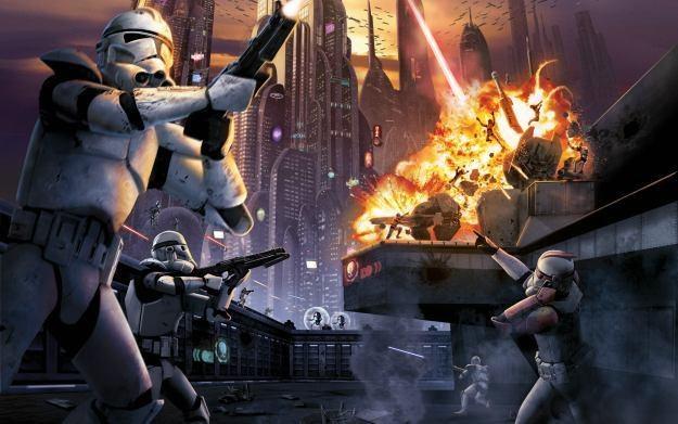 Star Wars Battlefront: Elite Squadron - motyw graficzny /Informacja prasowa