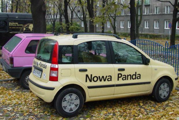 Stara i nowa panda... Wkrótce porównanie! / kliknij /INTERIA.PL