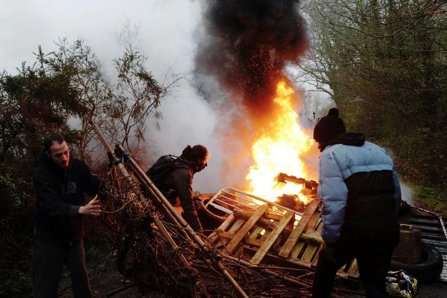 Starcia we Francji: Do akcji wkroczyli żandarmi oraz antyterroryści /THIBAULT VANDERMERSCH /PAP/EPA