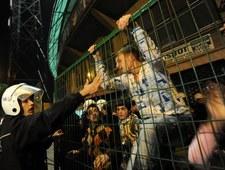 Starcia z policją i płonący stadion. Dantejskie sceny w Turcji
