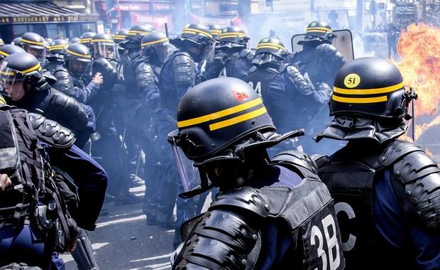 Starcia z policją w Paryżu. Funkcjonariusze użyli gazu łzawiącego